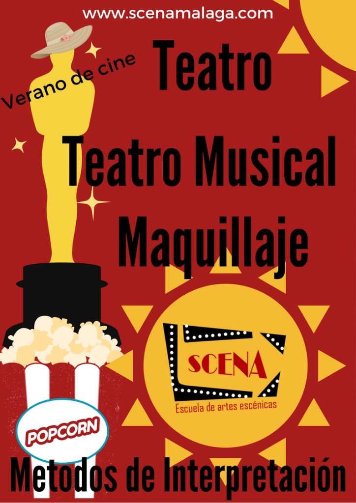 Teatro musical maquillaje verano
