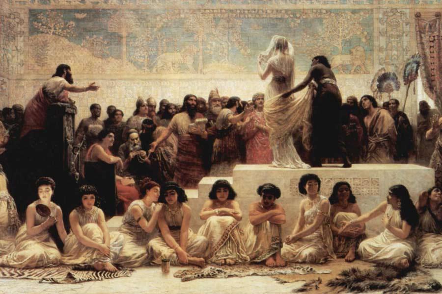 Teatro en Mesopotamia